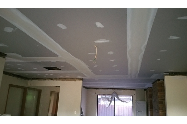 During | FALLEN CEILING = MESS (0)