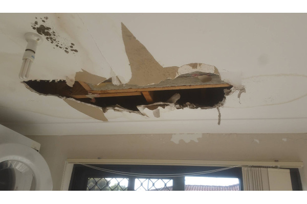 Before | WATER DAMAGED CEILING (0)